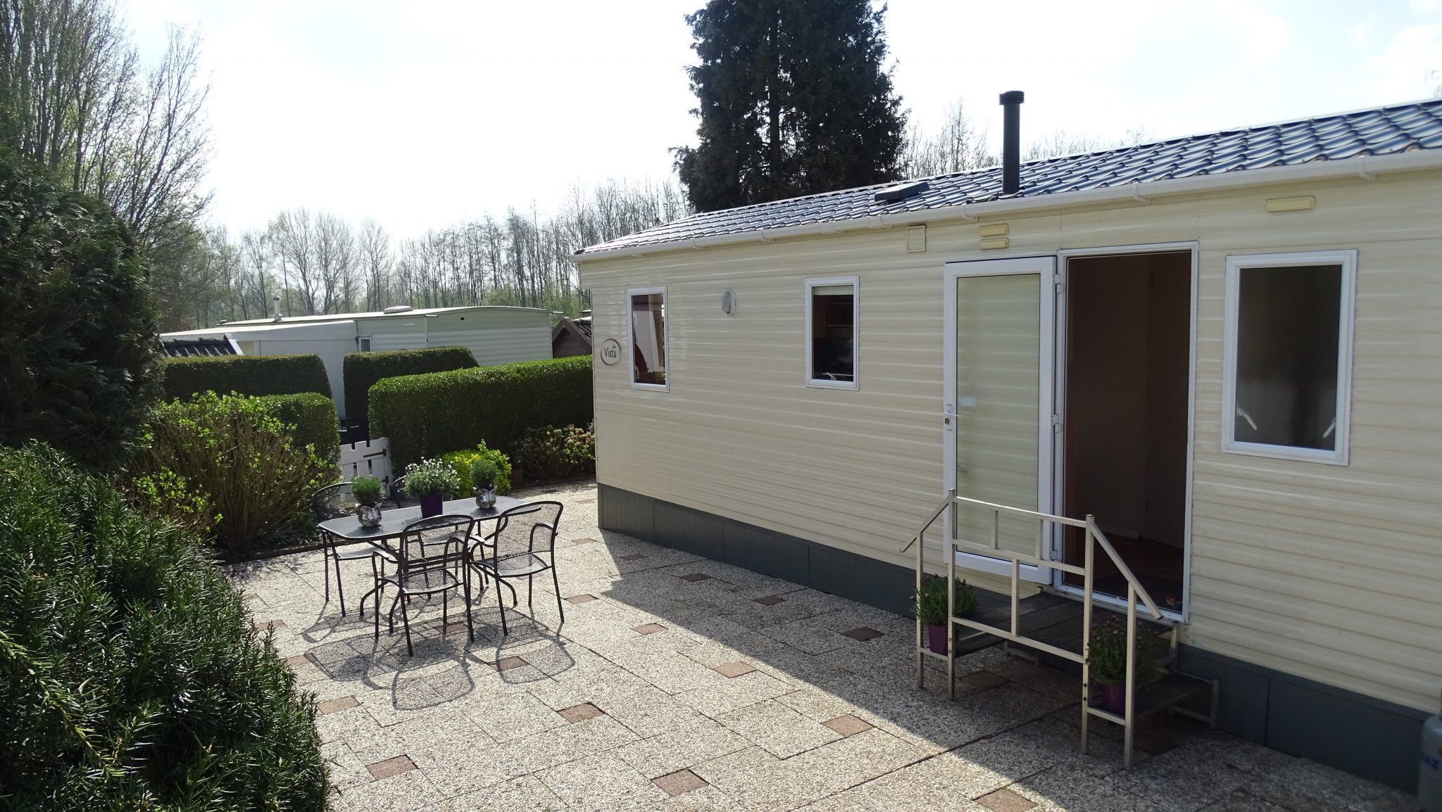 Chalet nr31 recreatieoord 39in den boomgaard39 for Chalet m bel pinie